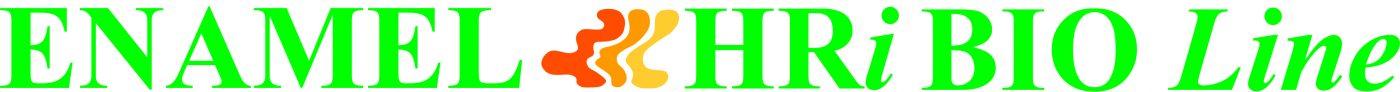Logo Enamel Bio Line Długie Zielone